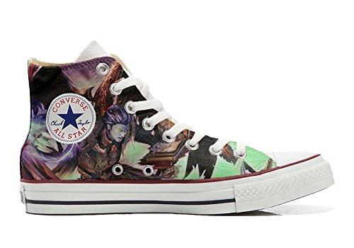 Converse style et coutume Personnalisé Star Demon Italien artisanal Unisex Sneaker chaussures All Imprimés Hi produit axBaqAw