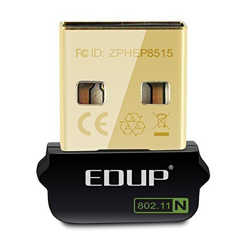 50 opinioni per EDUP- Adattatore Wifi Mini USB,150MBps USB 2.0 Wifi Adapter supporta Windows Mac