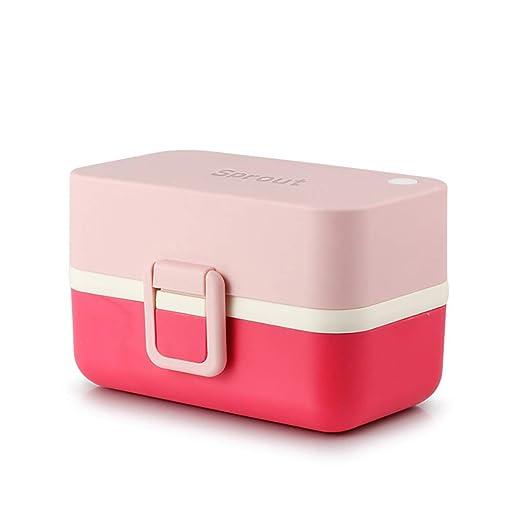 YJJY Fiambreras Bento Box Lunchbox Acero Inoxidable ...