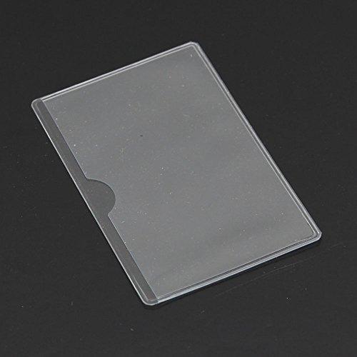 Durable modeling emylo pack of 8 plastic soft transparent card durable modeling emylo pack of 8 plastic soft transparent card holder id credit card horizontal business colourmoves