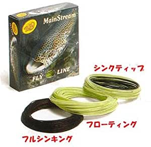Rio Mainstream Trout, Lemon Green, DT3F