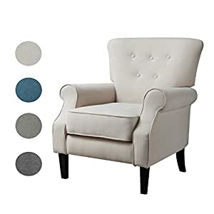 Amazon.com: Top Space Accent Chair Sofa Mid Century ...