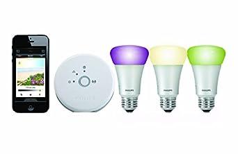 Philips Hue Personal Wireless Lighting Starter Kit (3 x