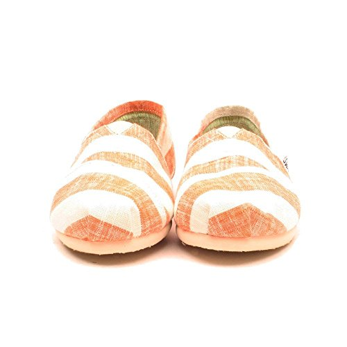 Toms Womens Classic Casual Shoe Coral and White qazvZUZWA