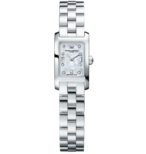 Baume & Mercier Women's 8680 Hampton Mini Diamond Watch