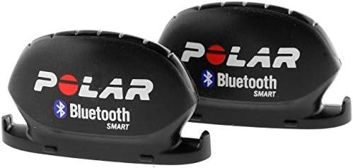 Polar 91047327 Velocidad y Sensor de cadencia, Unisex, Negro, 2 Unidades