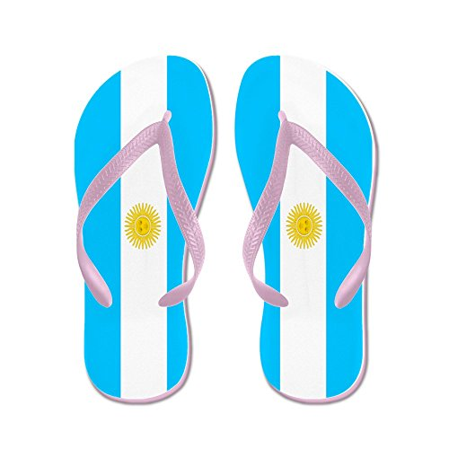 Infradito Cafepress - Argentina - Infradito, Sandali Infradito Divertenti, Sandali Da Spiaggia Rosa