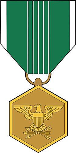 - Military Vet Shop US Army Commendation Medal Window Bumper Sticker Decal 3.8