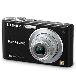 Panasonic DMC-F2K Lumix 10.1MP Digital Camera with 4x Optical Zoom (Black)