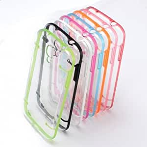Luminous Glow in Dark Bumper Hard Case For Samsung Galaxy S4 i9500 --- Color:Rose pink