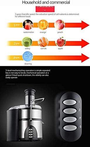 Caña de azúcar Juicer escoria jugo separación máquina de jugo de jugo de gran calibre automático recién exprimido jugo frito cítricos comercial máquina de fruta del hogar