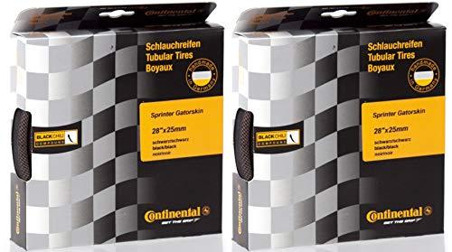 - 2 Pack - Continental Sprinter Gatorskin Tubular Tire 28''x 22 mm