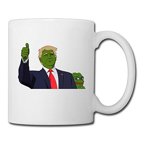 DEMOO Pepe The Frog Trump Coffee Mugs / Tea Cups (Ellen D Halloween Costume)