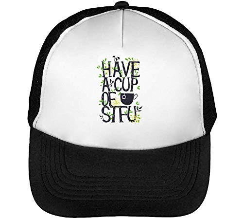 Have Snapback Beisbol Stfu Cup Blanco Hombre A Negro Gorras Of 6q6v75r
