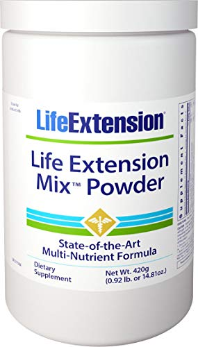 Life Extension Mix with stevia Powder, 14.81 Ounce