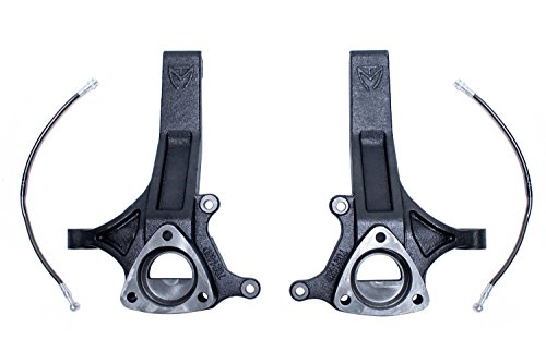 Maxtrac Suspension 702145 Lift Spindles W/Extended Break Lines (2Wd) Dot ()