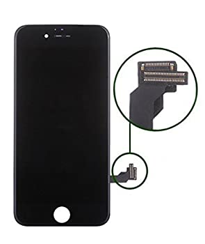 Replacement Screen Lcd Display Digitizer Assembly Complete Full Set For Iphone 7 4.7 Inch (Black) Including Repair Tool Kit 0