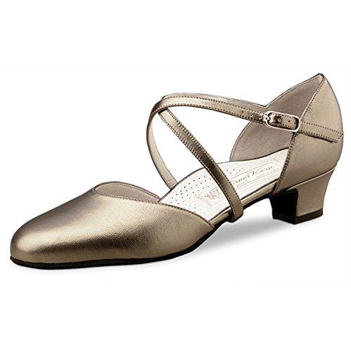 Nucléaire Werner - Femmes Chaussures De Danse Felice 3.4 - Antique Chevro - 3,4 Cm Antique