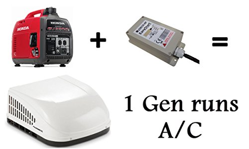 Hutch Mountain GenCool Run AC with 1 Generator – Microair Easy Start Technology