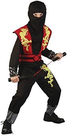 Disfraz de Ninja del dragón dorado para niño: Amazon.es: Juguetes ...