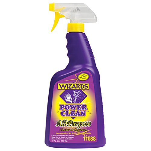 Wizards 11088 Power Clean All Purpose Cleaner and Degreaser - 22oz.