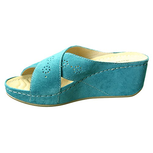 Sand sandals Women's David Savanah Tate M Teal 11 wBtB4pP1cq