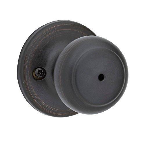 (Pack Of 3) Kwikset 300CV-11P Cove Bed/Bath Knob in Venetian Bronze Color: Venetian Bronze Size: 3 Pack, Model: , Tools & Outdoor Store