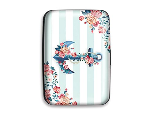Lady Jayne LDJ85124 Case Credit Card Seaside Blooms Case Credit Card Seaside Bloom ()