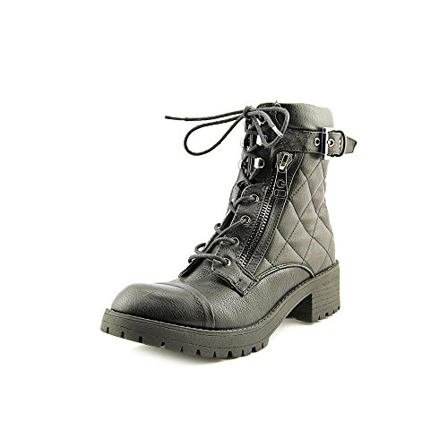 G By Guess Martha Quilted Combat Boots US