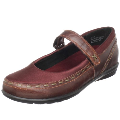 Aetrex Women's Berry Mary Jane, Cranberry,9 W US (Aetrex Mary Leather Janes)