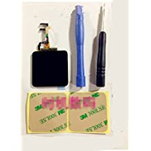 New Full Repair Kit Touch Screen Digitizer Glass Lcd Display Screen for Ipod Nano 6th Generation Pre-assembly + Pre-cut Adhesive Sticker Tools
