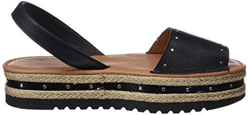 best place for sale MENORQUINAS POPA Women's Cannes Black Platform Sandals Black (Black 0) buy cheap lowest price fake cheap online buy cheap cheap cheap visa payment DIyFVgO6