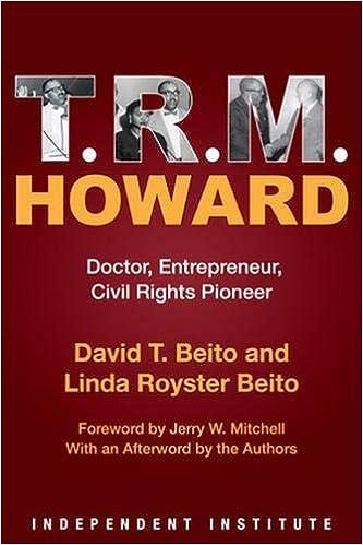 T. R. M. Howard: Doctor, Entrepreneur, Civil Rights Pioneer ...
