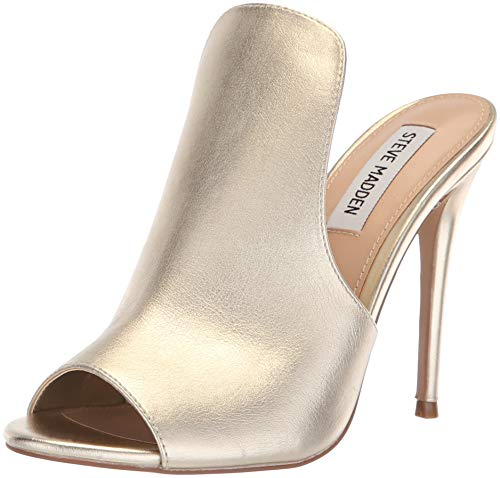 5 Gold Sandal Women's Us Heeled 8 Madden Sinful Steve M KqRwO60fZZ