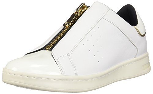 C1000 Geox Bianco Sneaker Jaysen A D White Donna Infilare qqZF8zw
