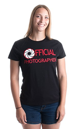 Official Photographer | Cute Photography Camera Event Staff Ladies' T-shirt