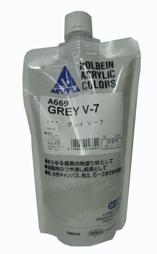 Gesso 300ml Grey V-7 by HOLBEIN ARTISTS COLORS