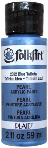 (FolkArt Acrylic Paint in Assorted Colors (2 oz), 2892, Blue)