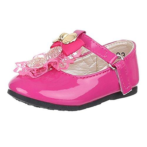 Kinder Schuhe, 223-10, BALLERINAS MIT DEKO VERZIERTE Pink