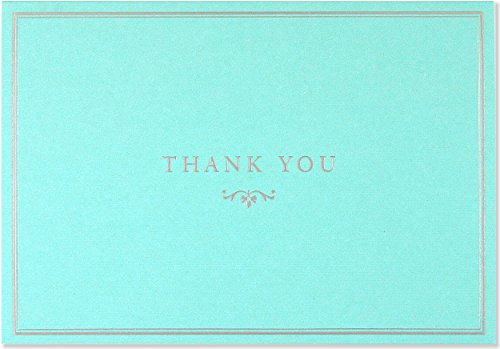 Blue Elegance Thank You Notes (Stationery, Note Cards)