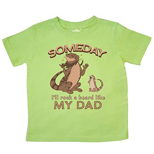 (inktastic - Someday I'll Rock A Beard Like My Toddler T-Shirt 2T Key Lime 35b58)