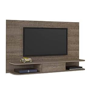 Artely Studio Wall Panel for 50 inch TV, Cinnamon - H 96cm x W 160 cm x D 36,5 cm