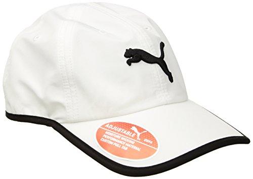 PUMA Women's Evercat Running Cap, WhiteBlack, OS: