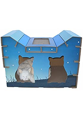 Go Pet Club CP003 Cat Scratching Board House Style