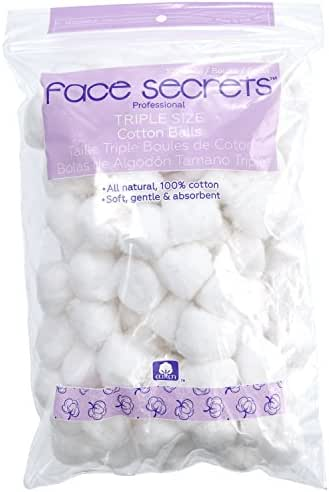 Cotton Balls & Rounds: Face Secrets