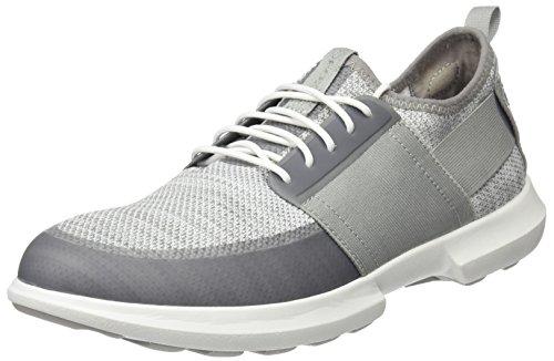 Geox Heren Traccia 9 Sneaker Wit / Lichtgrijs