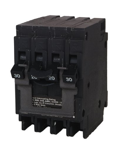 Murray MP220230CT2 One 20-Amp Double Pole One 30-Amp Double Pole Circuit Breaker