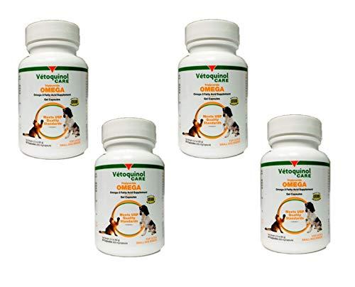 Vetoquinol 410499 AllerG-3 Capsules and Liquid,60 ct (4 Pack)