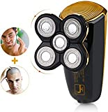 Wet Dry Men's Shaver Bald Head Shaver,2 in 1 Professional Cordless Electric Waterproof