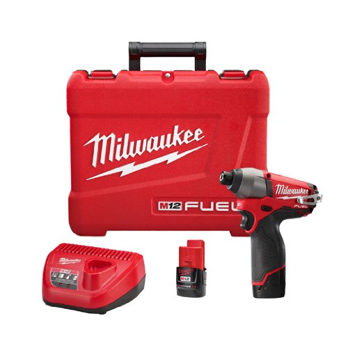 Milwaukee 2453-22 M12 Fuel 1/4 Hex Impact Driver with 2 Batteries Review